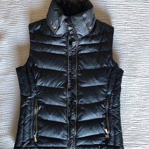 Michael Kors Puffer Vest w/ Detachable Hood